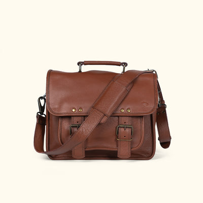 Roosevelt Buffalo Leather Camera Bag | Amber