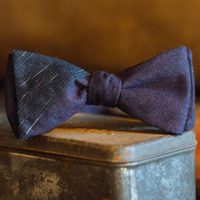 Vintage Stripe Cotton Bow Tie