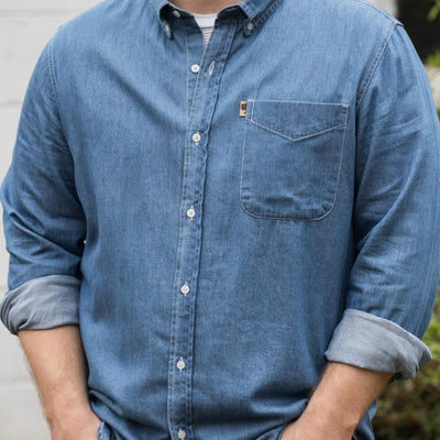 Wyoming Denim Shirt - Dark