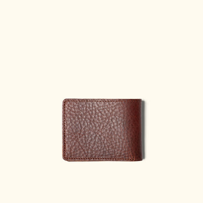 Men's Bison Leather Wallet