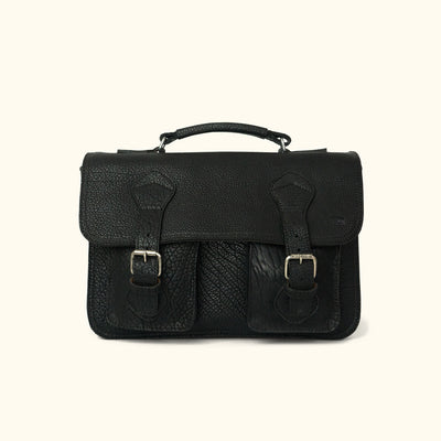 Ryder Reserve Bison Leather Briefcase | Black