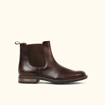 Santa Fe Panel Boot | Mahogany
