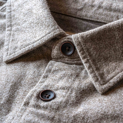 Shepherd Moleskin Shirt - Wheat