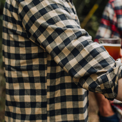 Waxhaw Buffalo Plaid Flannel | Desert Storm