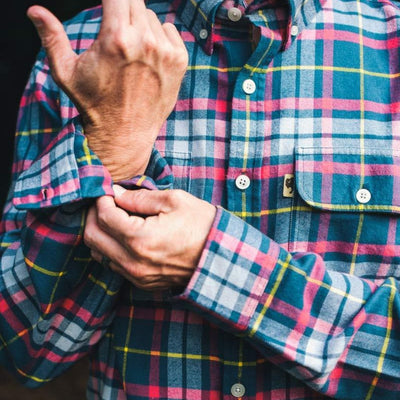 Flannel Shirt - Two Pocket, Workshirt