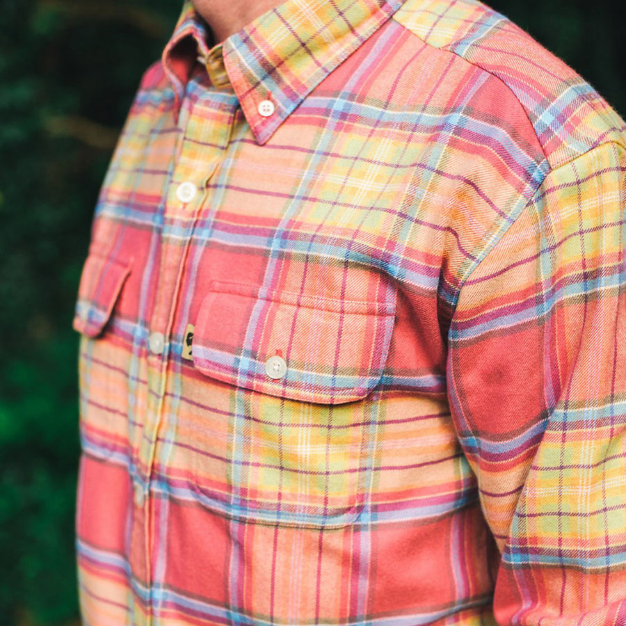 Glenfield Flannel Phoenix Sunset Plaid