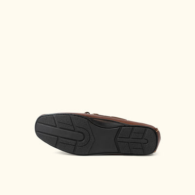 Verona Leather Moccasins | Tumbled Brown