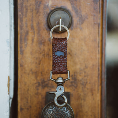 Ryder Reserve Bison Leather Key Strap