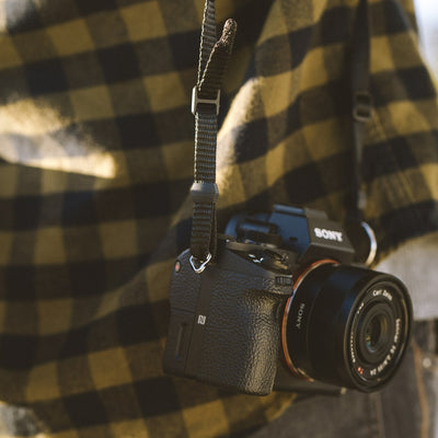 Dakota Leather Camera Strap | Saddle Tan