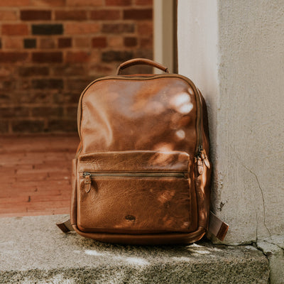 Best leather commuter backpack bag