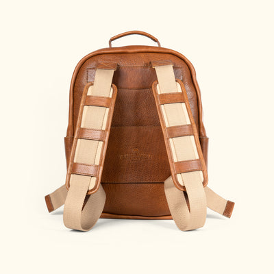 Men's Classic Commuter Backpack - Rustic Tan