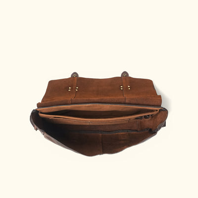 Vintage Messenger Bag | Vintage Oak interior