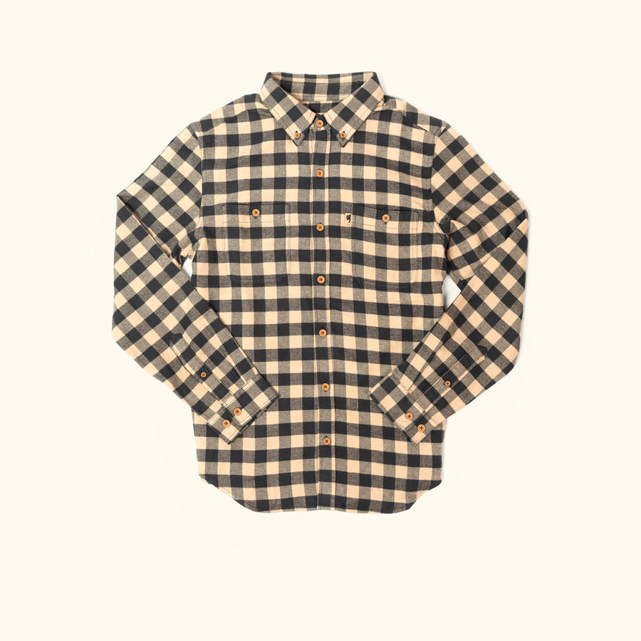 Waxhaw Buffalo Plaid Flannel - Deser Storm