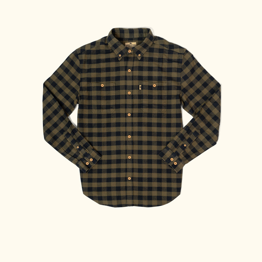 Men's Waxhaw Buffalo Plaid Flannel - Great Plains
