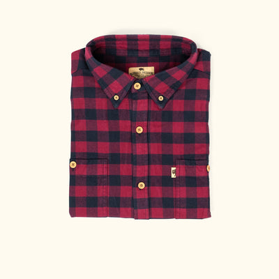 Waxhaw Buffalo Plaid Flannel | Pipestone