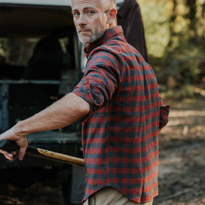 Waxhaw Buffalo Plaid Flannel - Red Range hover