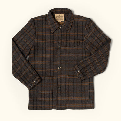 Mens Tough Wool plaid jacket