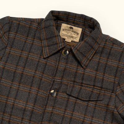Mens Vintage Plaid Wool Jacket