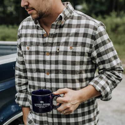 Waxhaw Buffalo Plaid Flannel | White Oak