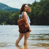 Madison Leather Backpack | Saddle Tan