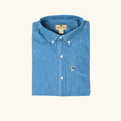 Wyoming Denim Shirt | Dark