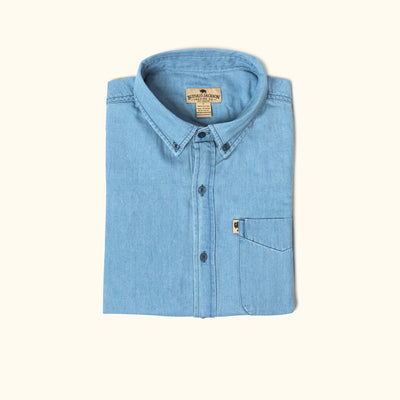 Wyoming Denim Shirt | Light