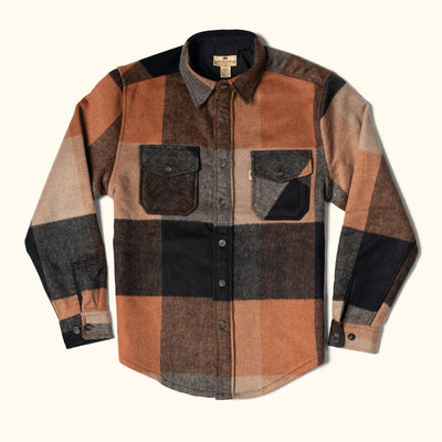 mens wool shirt jac buffalo jackson yukon shirt sun valley