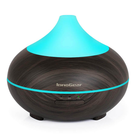 InnoGear 500ml Smart Wi-Fi Essential Oil Diffuser Vaporizer App Control Works with Alexa Google Home Aromatherapy Diffusers Cool Mist Humidifier with Timer Adjustable Mist