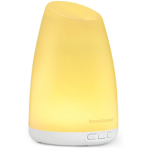 InnoGear Essential Oil Diffuser, 3rd Version 150ml Diffusers for Essential Oils Aromatherapy Diffuser with Sleep Mode Whisper Quiet Waterless Auto Off