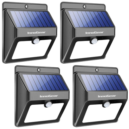 InnoGear Upgraded 6 LED Solar Landscape Spotlights 2-in-1 Wireless IP65 Waterproof Auto On/Off Outdoor Solar Landscaping Lights for Yard Garden Driveway Pathway Pool, Pack of 2 (White Light)