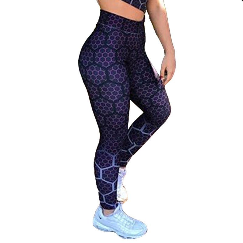 Lilac honeycomb leggings