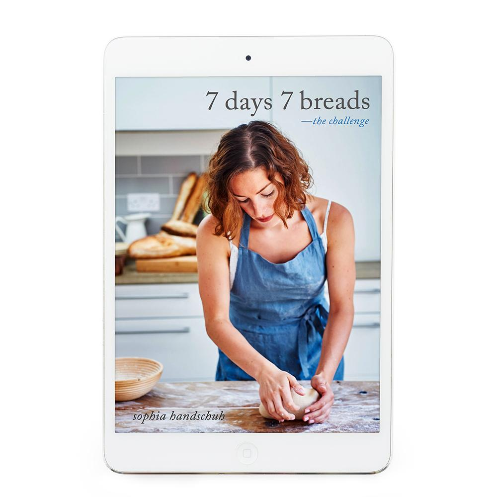 7 Days 7 Breads eBook - Recipes for Thermomix eBook Thermishop