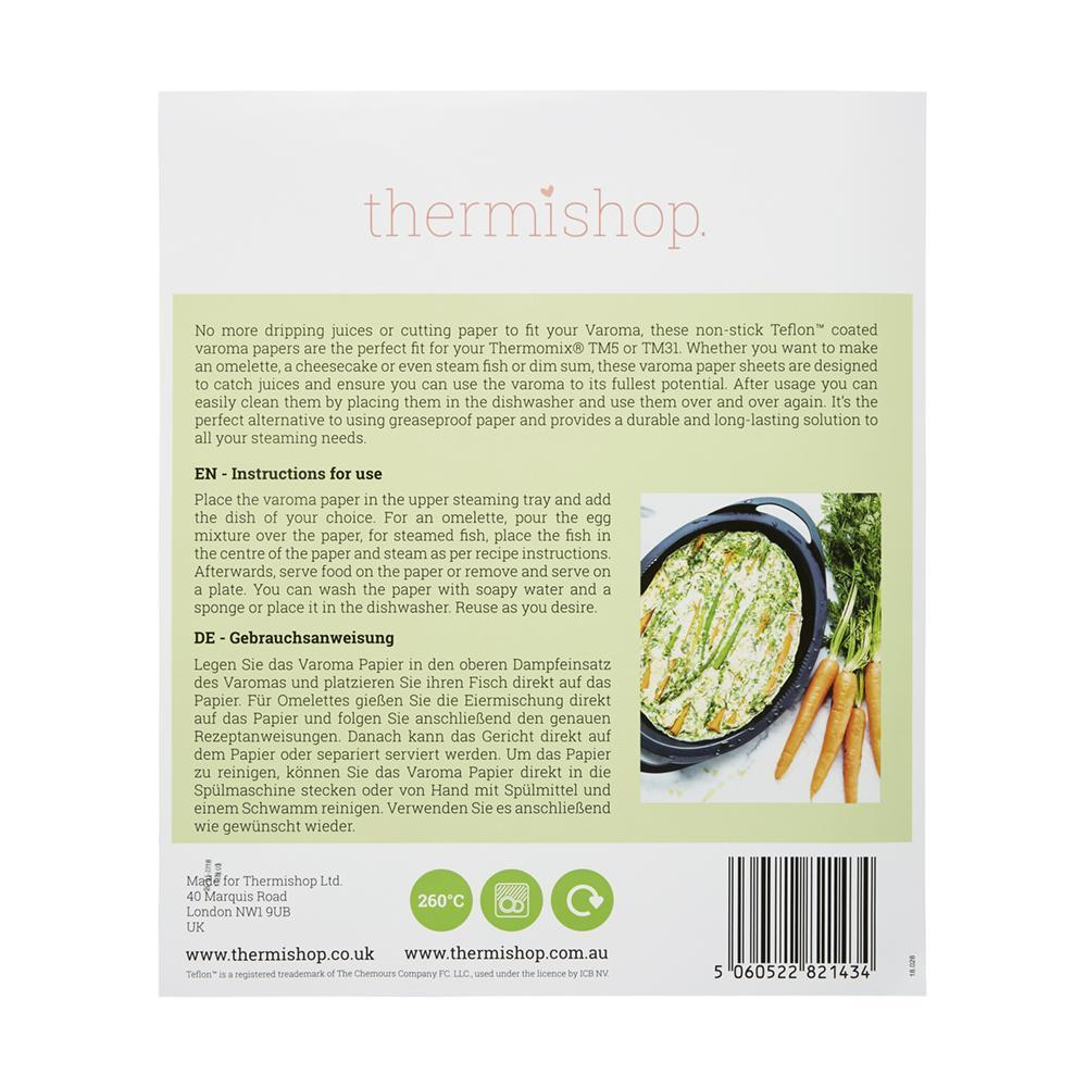 Reusable Teflon Papers - for Varoma TM5 / TM31 - Thermishop