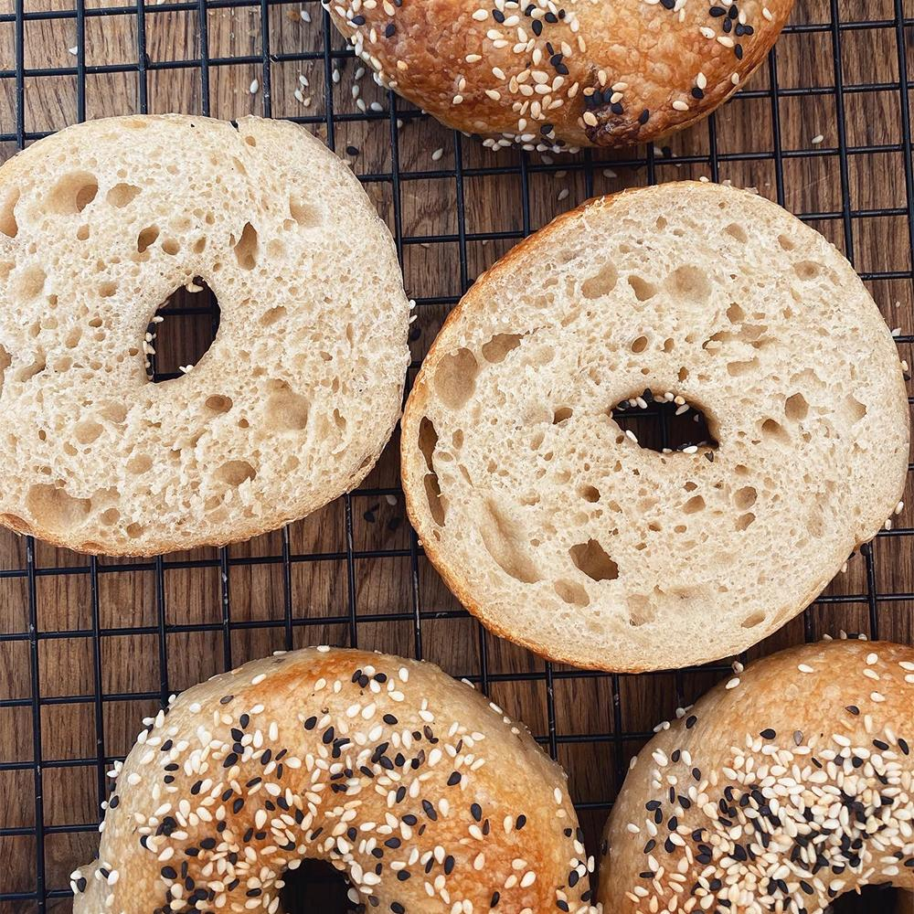 Sourdough Skills Series: bagels Online Course Thinkific