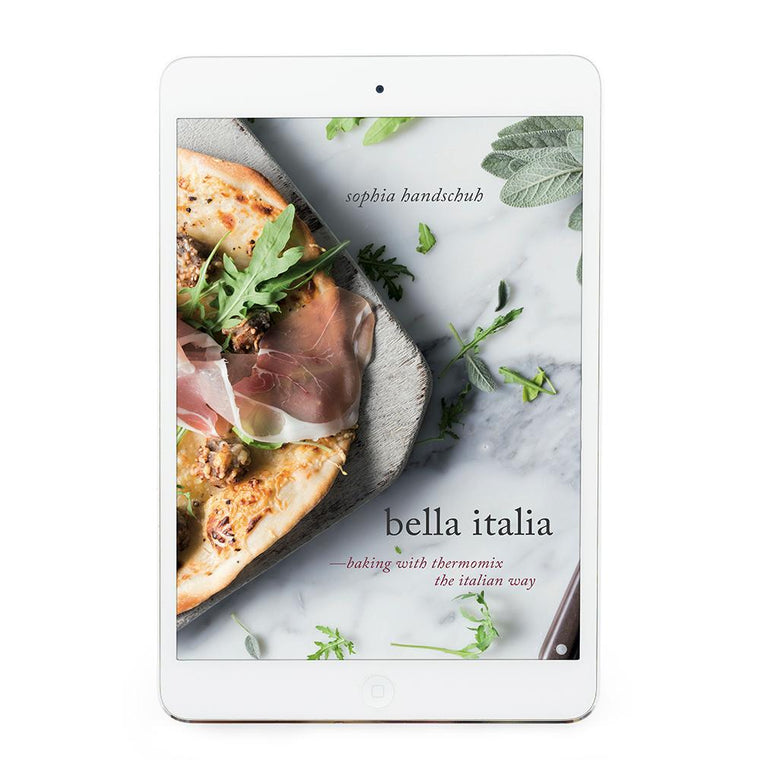 Bella Italia eBook - Recipes for Thermomix