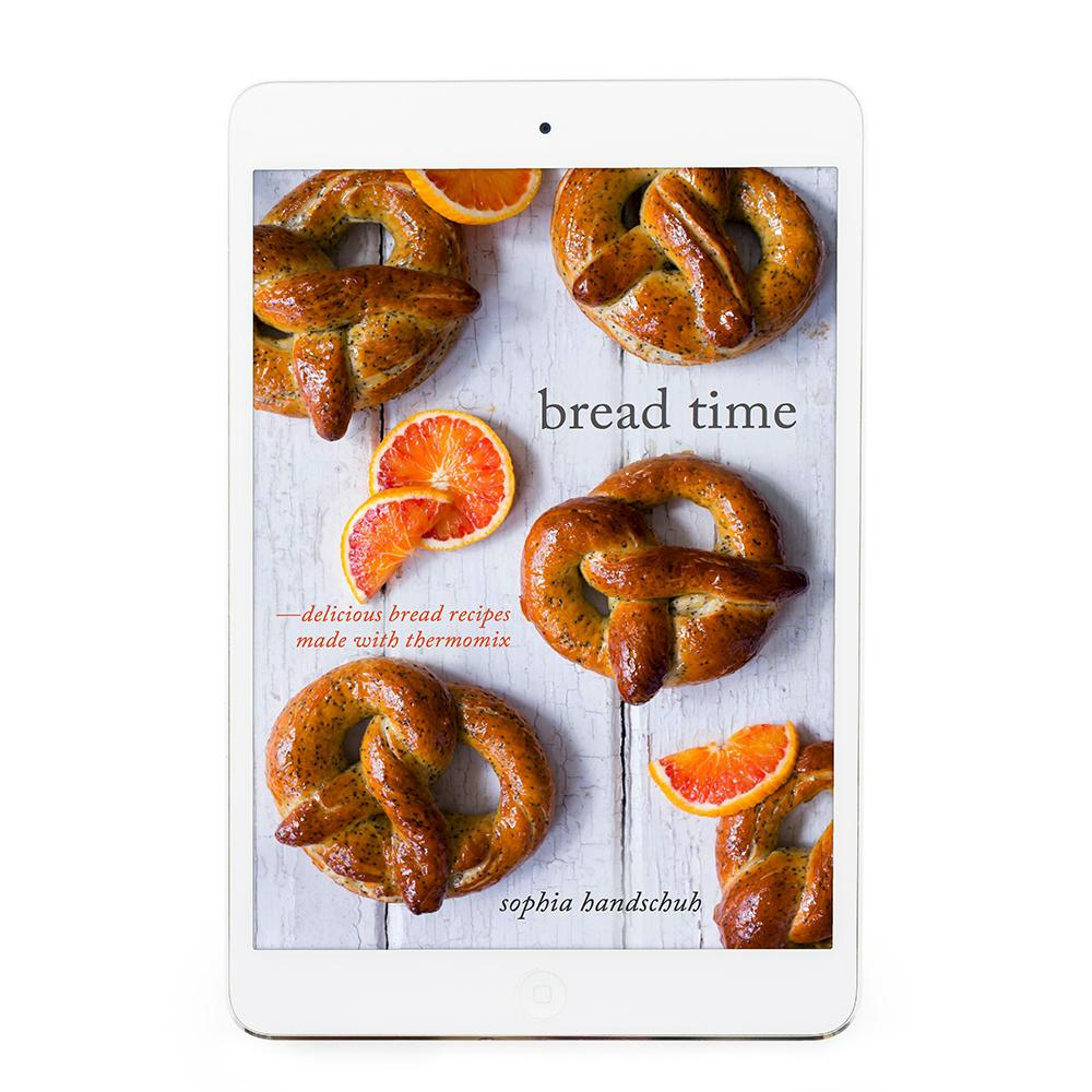 Bread Time eBook - Recipes for Thermomix - Thermishop