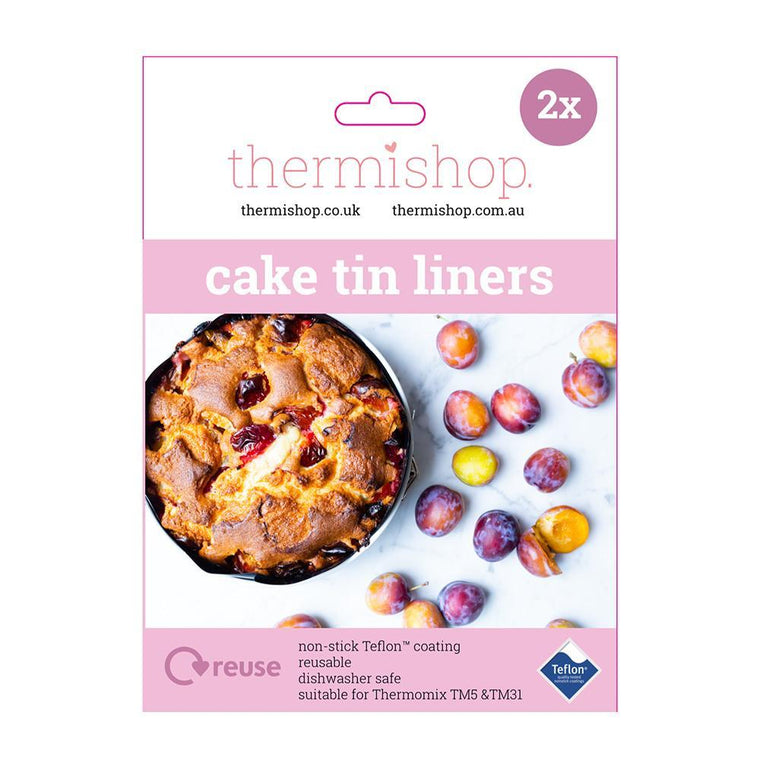 Reusable Teflon Cake Tin Liner Set - 18cm and 20cm cake liners Thermishop