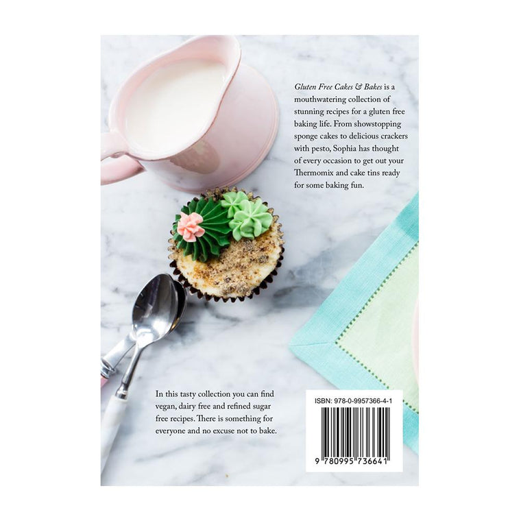 Gluten Free Cakes & Bakes Book - Recipes for Thermomix book Thermishop