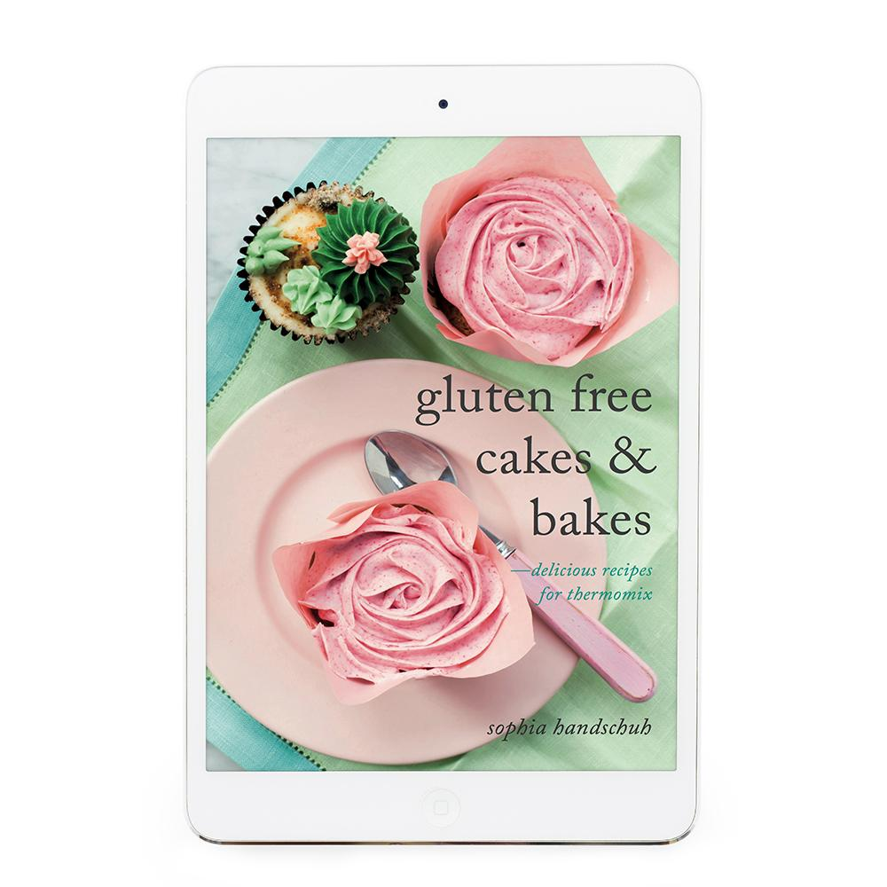 Gluten Free Cakes & Bakes eBook - Recipes for Thermomix eBook Thermishop