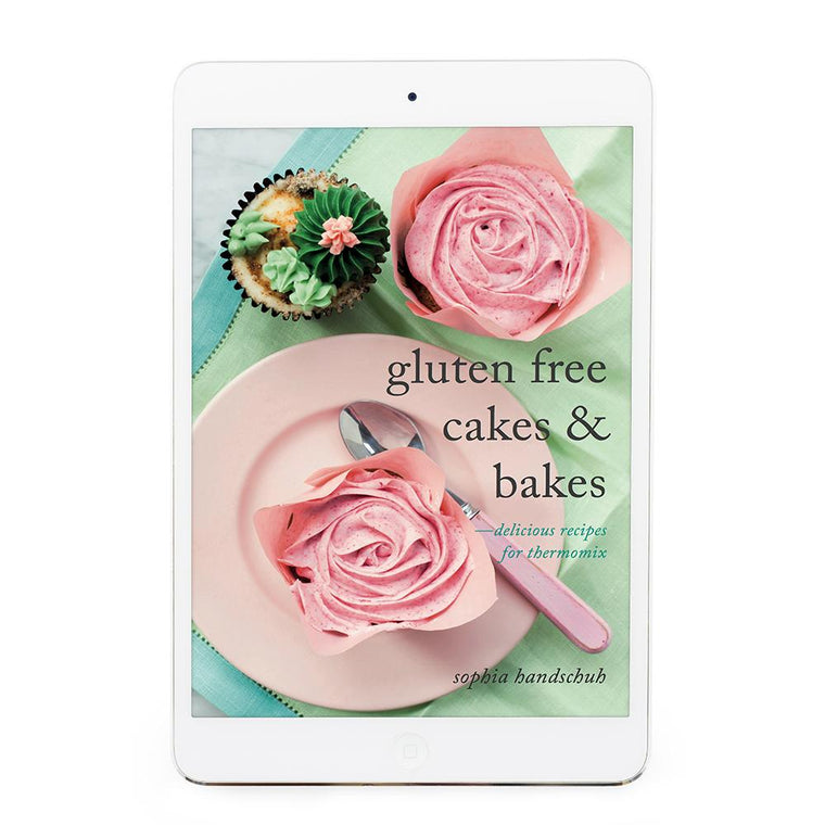 Gluten Free Cakes & Bakes eBook - Recipes for Thermomix