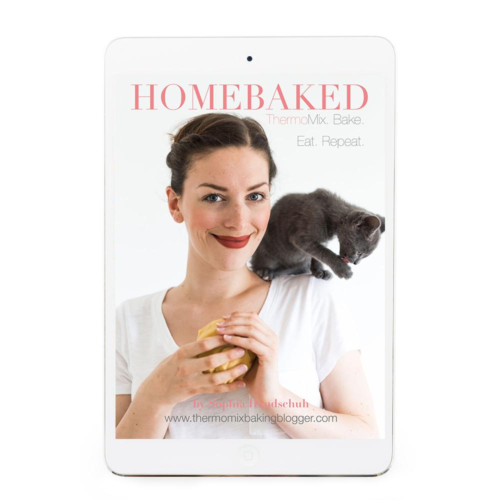 Homebaked eBook - Recipes for Thermomix eBook Thermishop