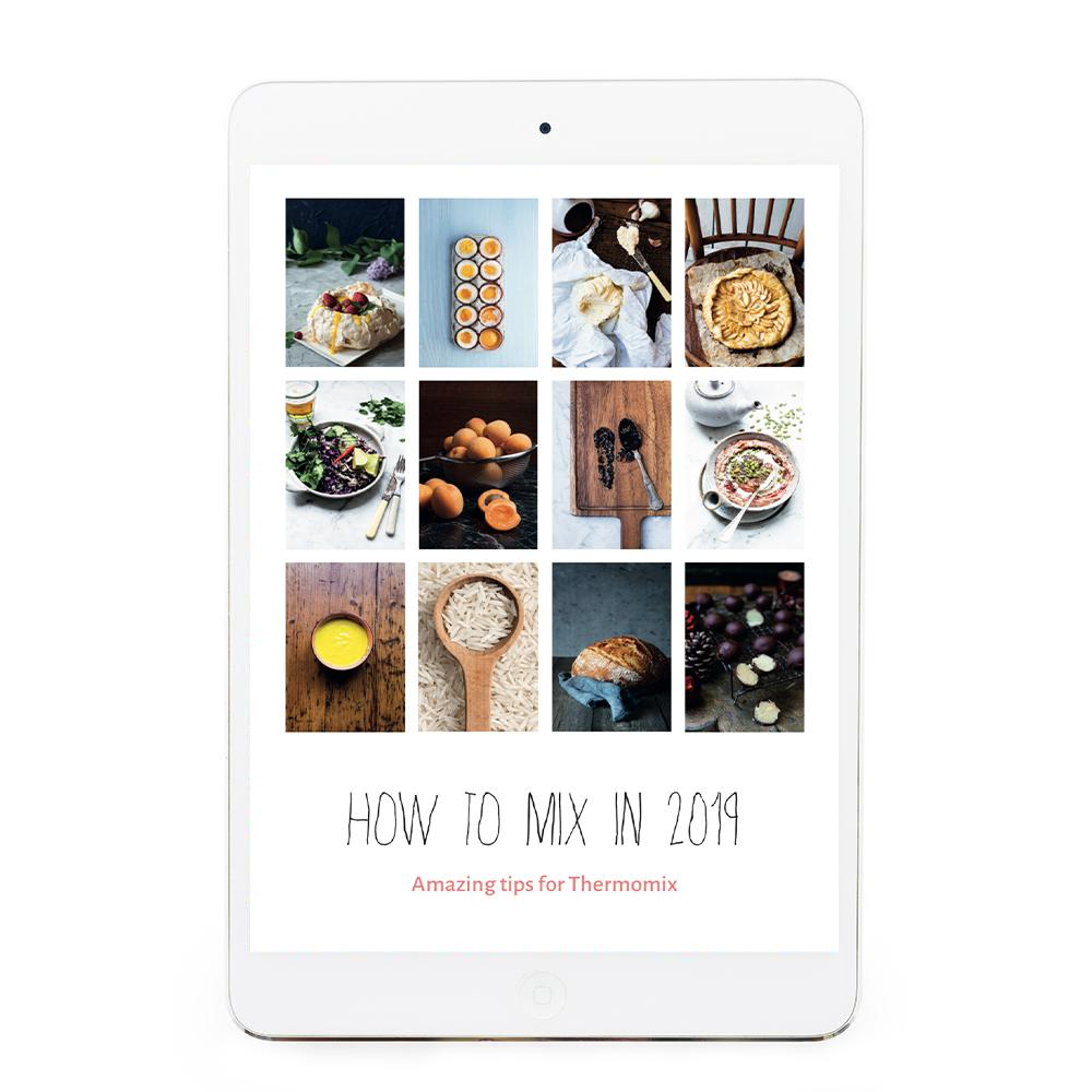 How to mix eBook - recipes for Thermomix eBook Thermishop