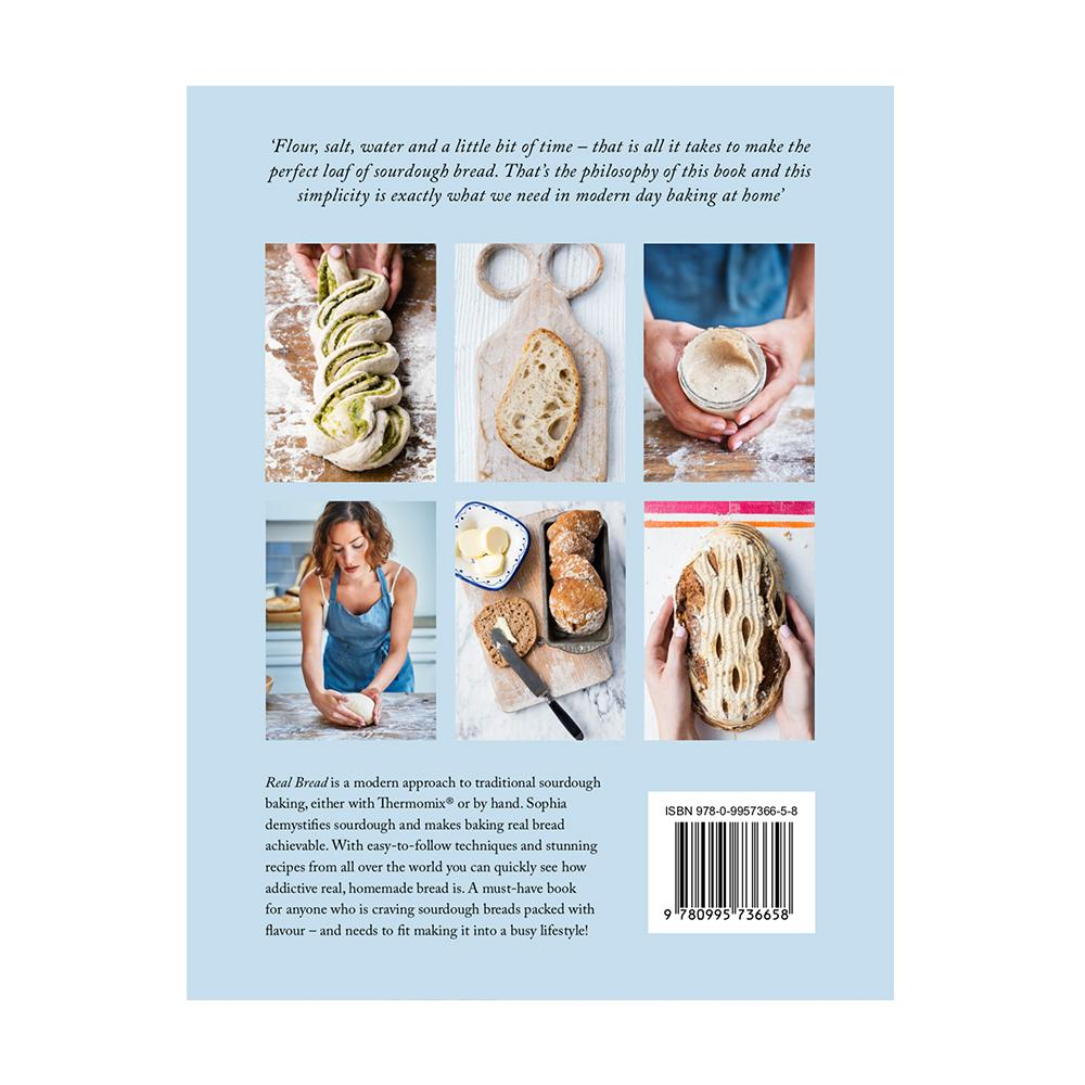 Real Bread Book - Recipes for Thermomix book Thermishop