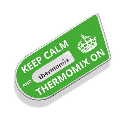 Keep Calm Sticker for Cook Key - Thermishop
