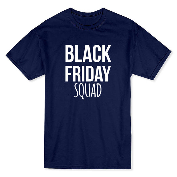 Black Friday Squad Men's Safety Orange T-shirt Short Sleeves Cotton T Shirt Fashion 100% Cotton Tee Shirt for Men