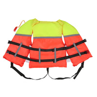 Adult Lifesaving Life Jacket Buoyancy Aid Boating Surfing Work Vest Clothing Swimming Marine Life Jackets Safety Survival Suit Outdoor Water Sport Swimming Drifting Fishing