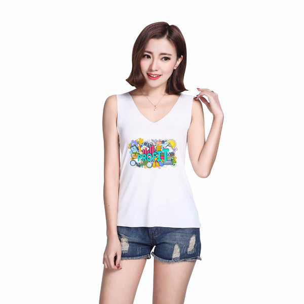 Sleeveless Spring wholesale new design couple sport coat Athletic vest safety dry fit sport rock t-shirt ladies sexy net bra set