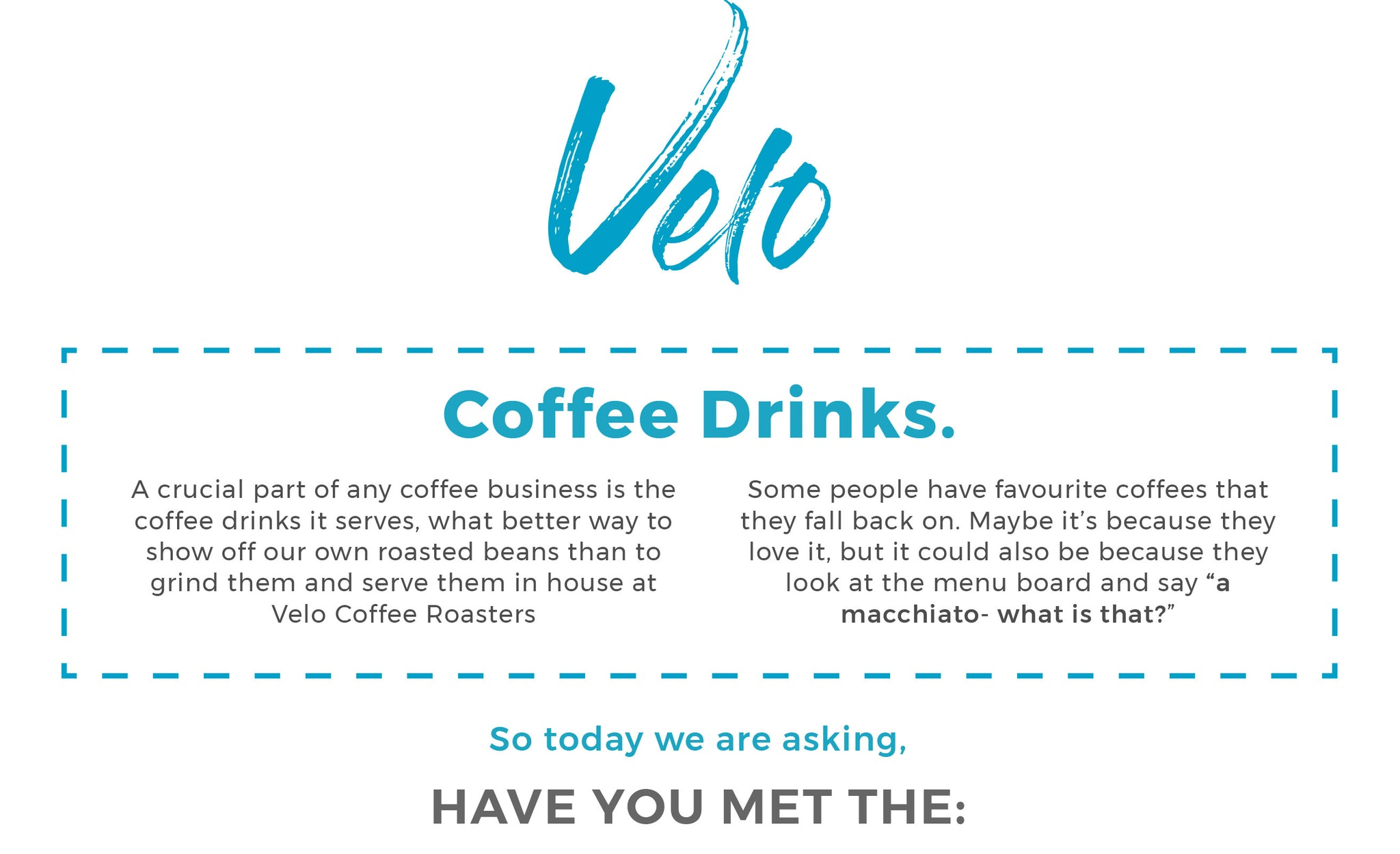 Cafe Velo Coffee Roasters Beans Drinks