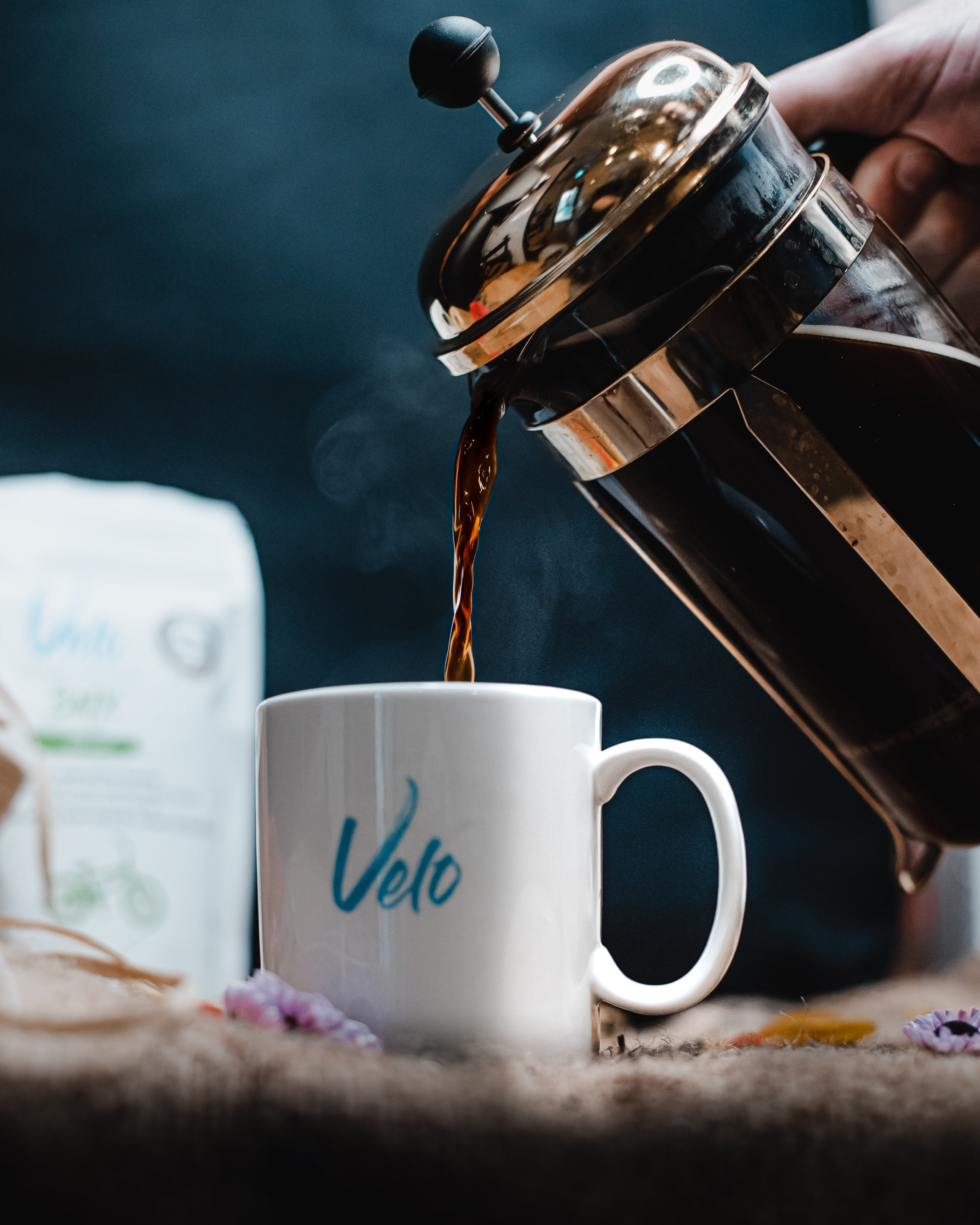 French press Velo Coffee