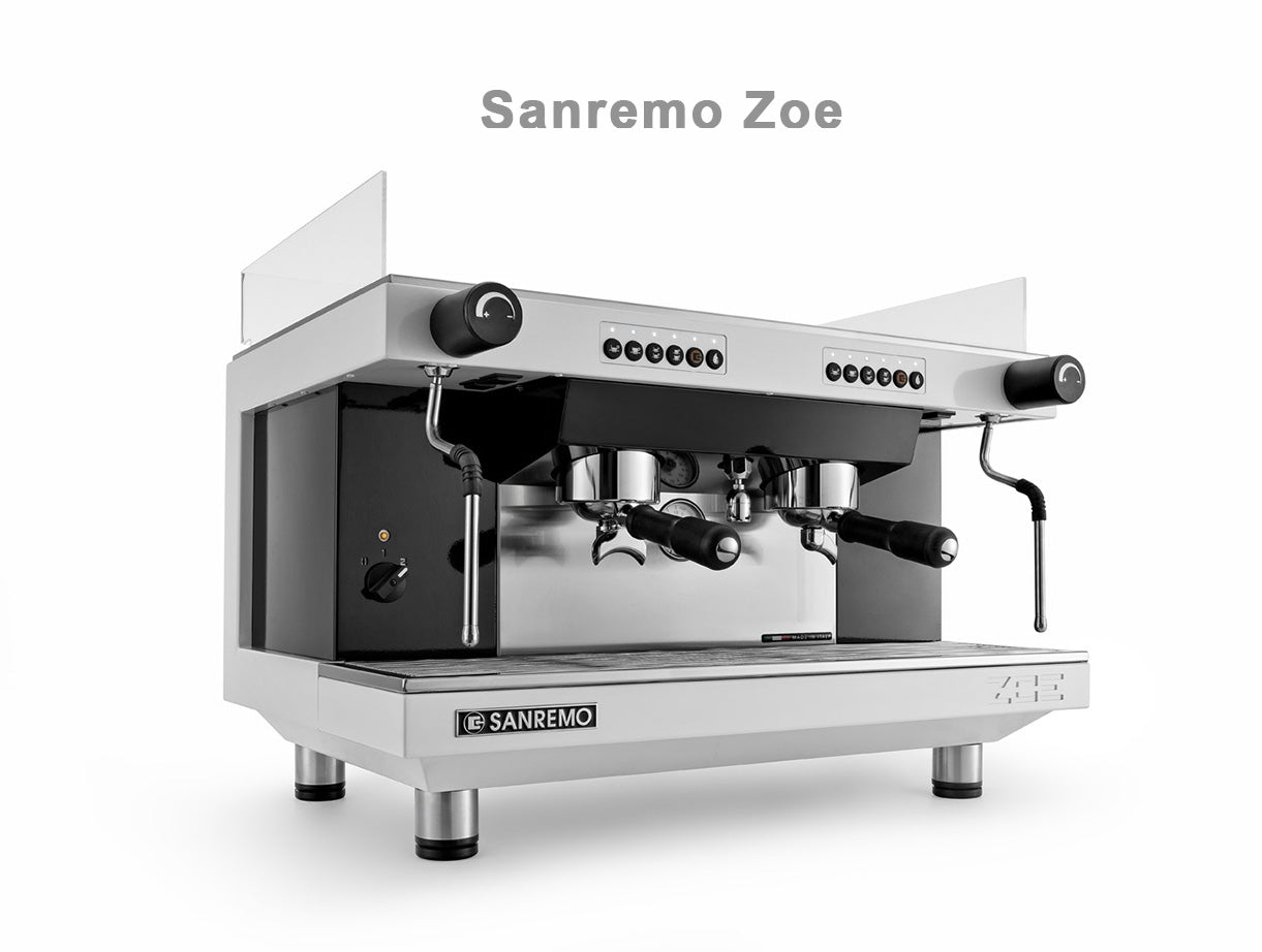 Sanremo Zoe Single Boiler Espresso Machine Cafe Velo Coffee Roasters Cork